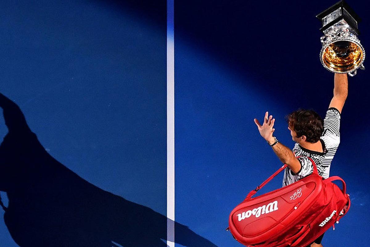 Roger Federer nous éclaire… sur l'éclipse du 31 janvier